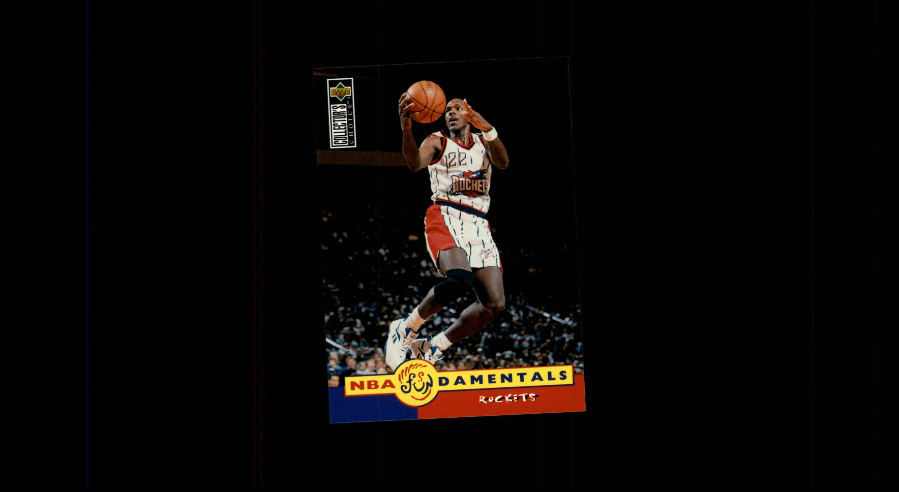 1996-97 Collector's Choice #175 Clyde Drexler FUND
