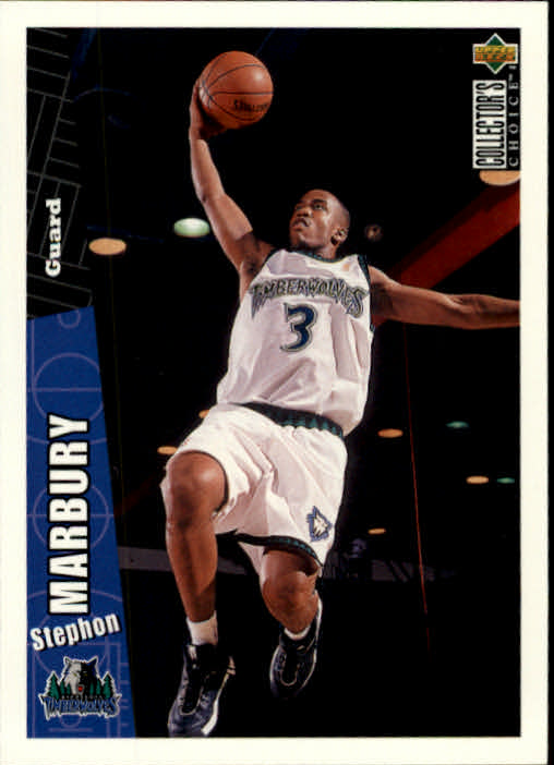 1996-97 Collector's Choice #281 Stephon Marbury RC