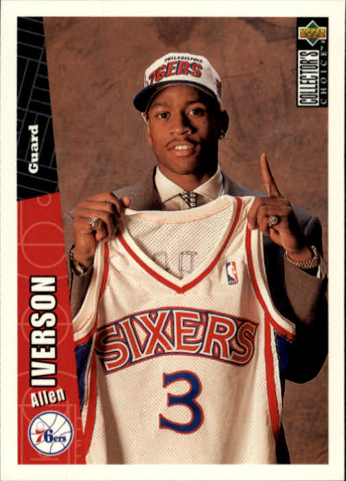 1996-97 Collector's Choice #301 Allen Iverson RC