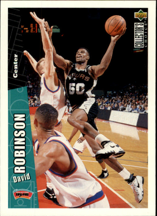 1996-97 Collector's Choice #329 David Robinson