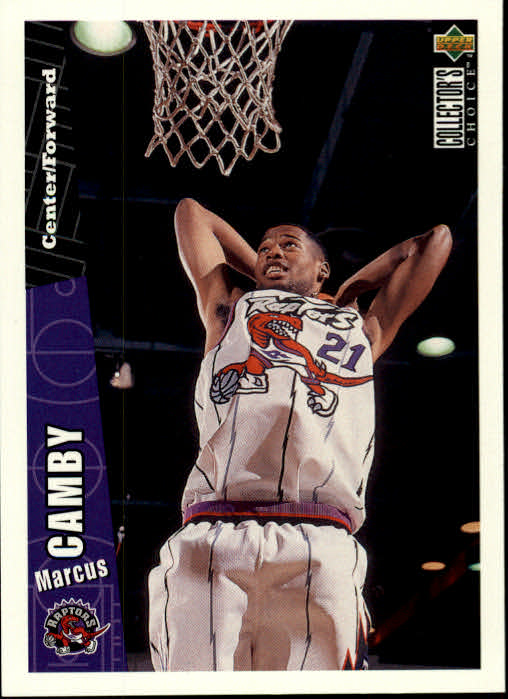 1996-97 Collector's Choice #339 Marcus Camby RC