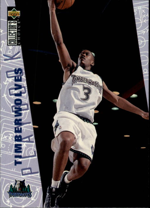 1996-97 Collector's Choice #382 Stephon Marbury PLAY