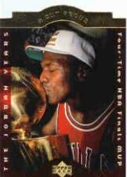 1996-97 Collector's Choice Jordan A Cut Above #CA9 Michael Jordan/4-Time Finals MVP