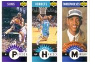 1996-97 Collector's Choice Mini-Cards #M140 Stephon Marbury/Darrin Hancock/Wesley Person