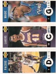 1996-97 Collector's Choice Mini-Cards #M149 Horace Grant/Elden Campbell/Dale Davis