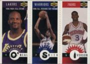 1996-97 Collector's Choice Mini-Cards #M152 Allen Iverson/Joe Smith/Shaquille O'Neal