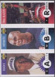1996-97 Collector's Choice Mini-Cards #M159 Cliff Robinson/Scott Burrell/Ray Allen