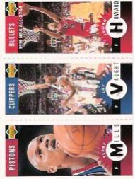 1996-97 Collector's Choice Mini-Cards #M178 Juwan Howard/Loy Vaught/Terry Mills