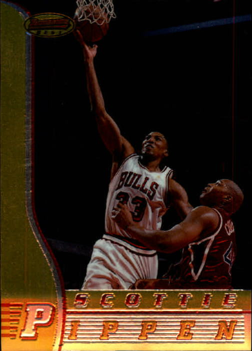 1996-97 Bowman's Best #1 Scottie Pippen