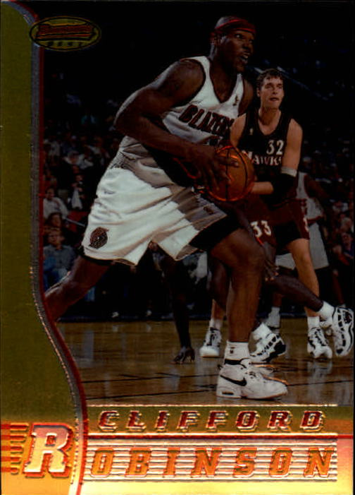 1996-97 Bowman's Best #8 Clifford Robinson