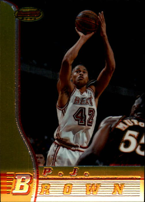 1996-97 Bowman's Best #12 P.J. Brown
