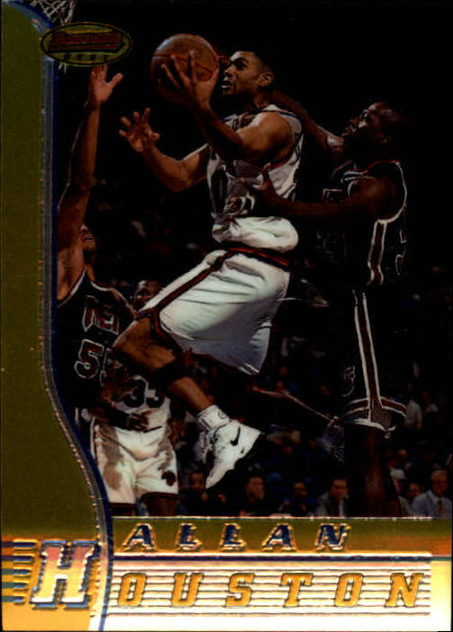 1996-97 Bowman's Best #16 Allan Houston