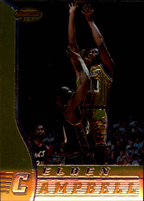 1996-97 Bowman's Best #17 Elden Campbell