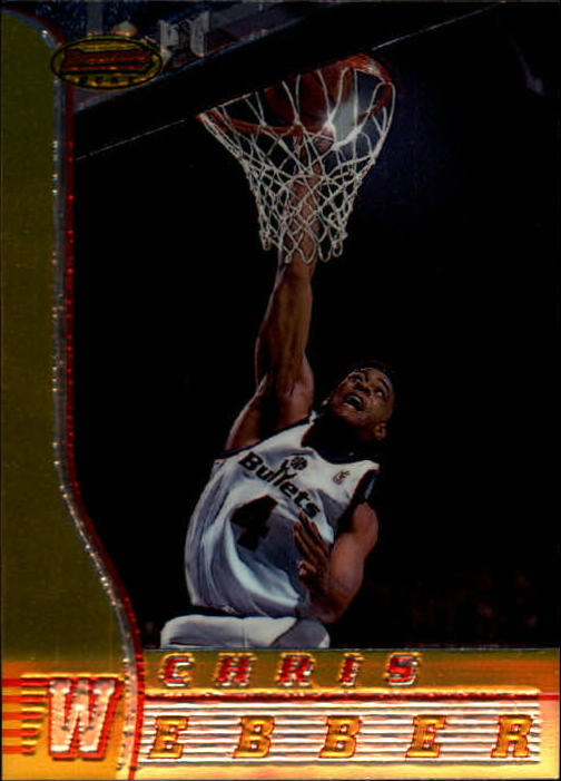 1996-97 Bowman's Best #27 Chris Webber