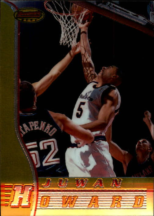 1996-97 Bowman's Best #33 Juwan Howard