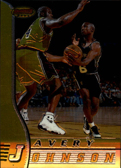 1996-97 Bowman's Best #36 Avery Johnson