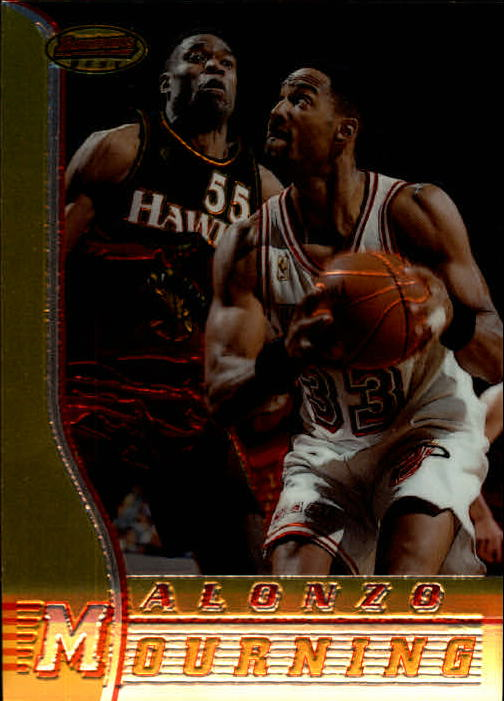 1996-97 Bowman's Best #41 Alonzo Mourning