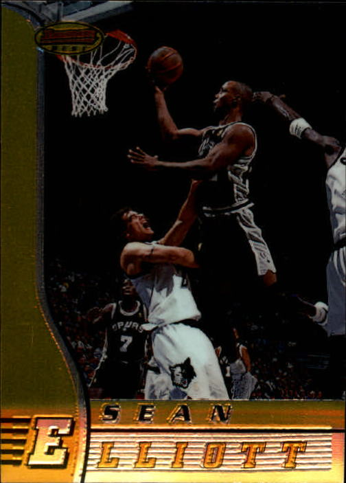 1996-97 Bowman's Best #60 Sean Elliott