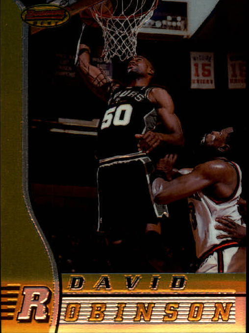 1996-97 Bowman's Best #69 David Robinson