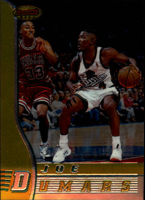 1996-97 Bowman's Best #76 Joe Dumars