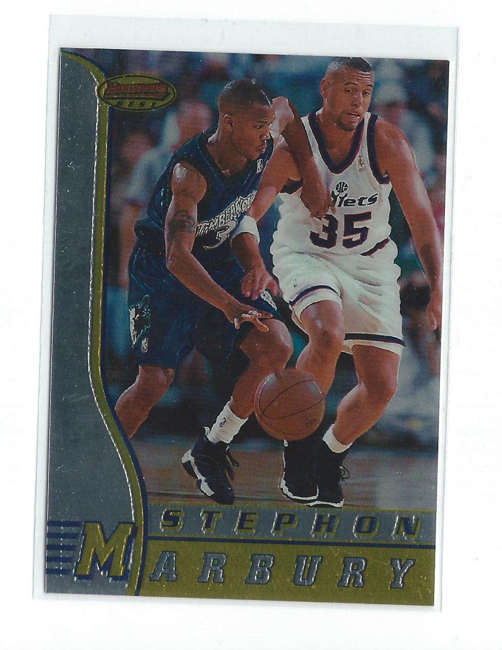 1996-97 Bowman's Best #R2 Stephon Marbury RC