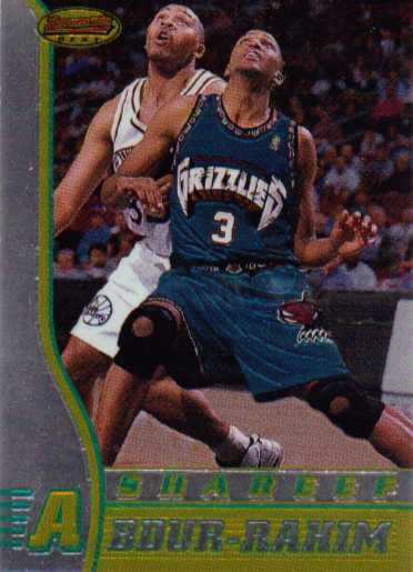 1996-97 Bowman's Best #R3 Shareef Abdur-Rahim RC