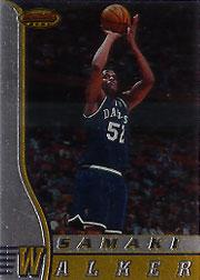 1996-97 Bowman's Best #R9 Samaki Walker RC