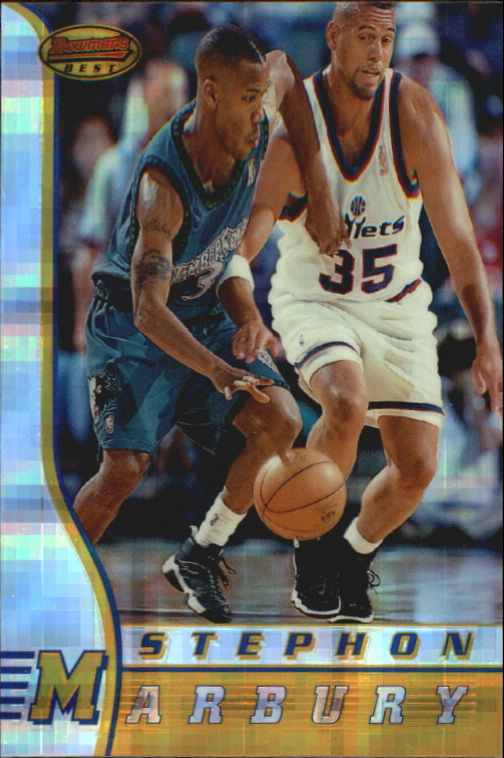 1996-97 Bowman's Best Atomic Refractors #R2 Stephon Marbury
