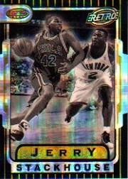 1996-97 Bowman's Best Atomic Refractors #TB12 Jerry Stackhouse RET