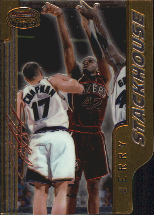1996-97 Bowman's Best Cuts #BC5 Jerry Stackhouse