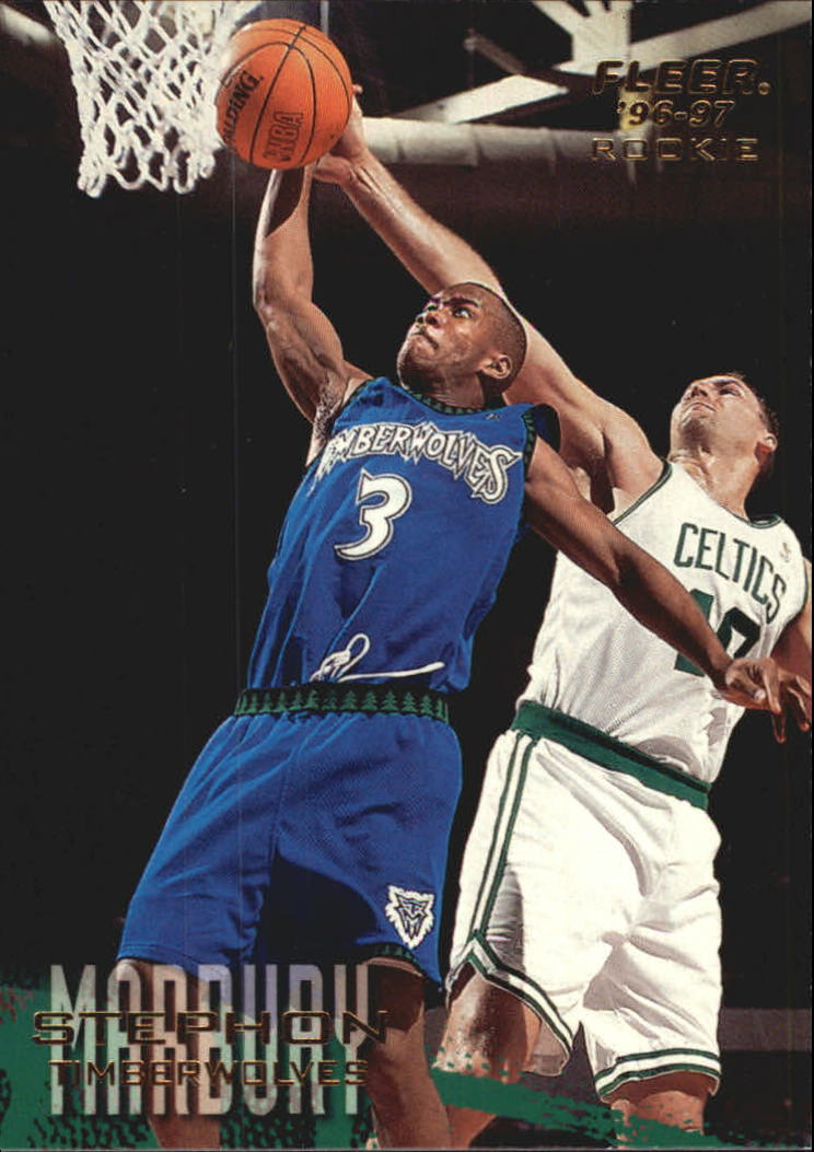 1996-97 Fleer European #249 Stephon Marbury