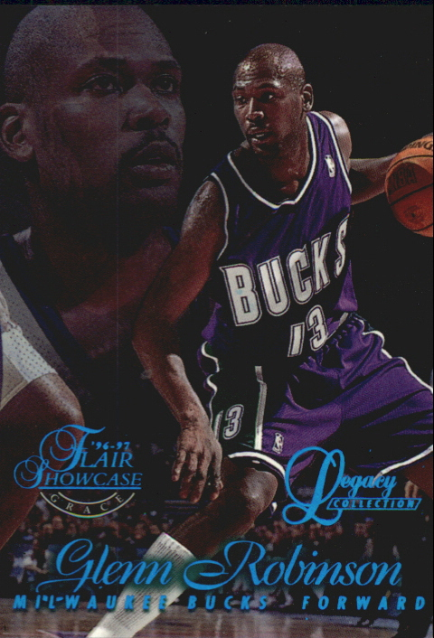 1996-97 Flair Showcase Legacy Collection Row 1 #13 Glenn Robinson