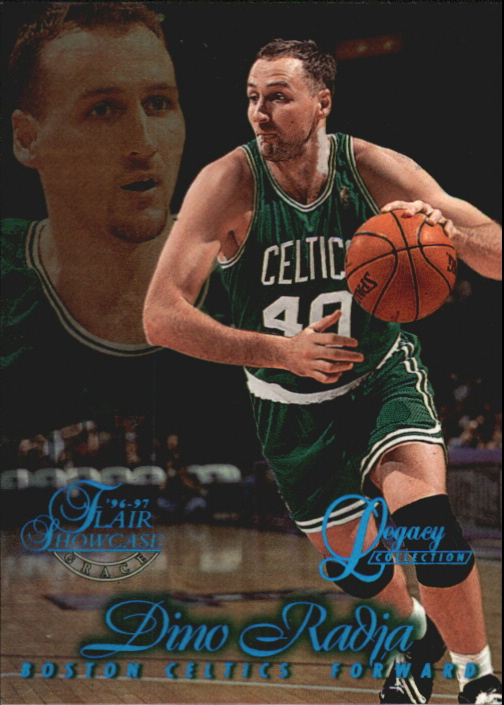1996-97 Flair Showcase Legacy Collection Row 1 #64 Dino Radja