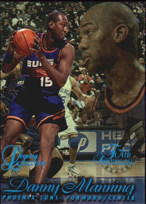 1996-97 Flair Showcase Legacy Collection Row 1 #82 Danny Manning