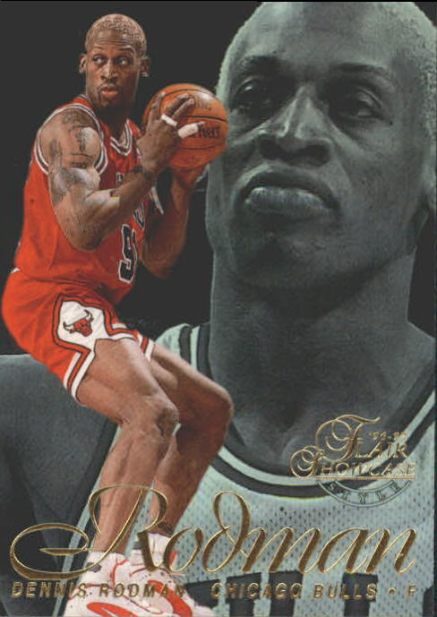 1996-97 Flair Showcase Legacy Collection Row 2 #9 Dennis Rodman