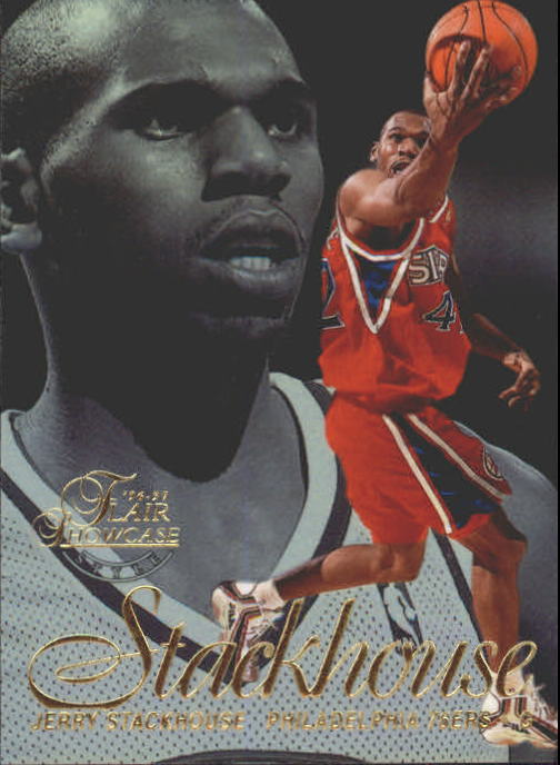 1996-97 Flair Showcase Legacy Collection Row 2 #16 Jerry Stackhouse
