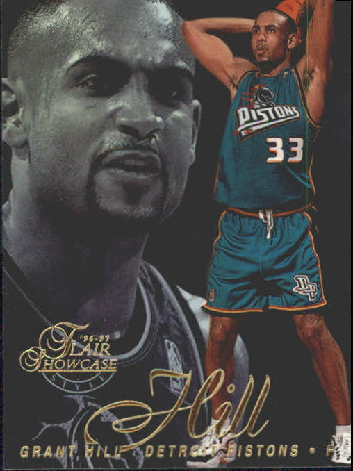1996-97 Flair Showcase Legacy Collection Row 2 #19 Grant Hill