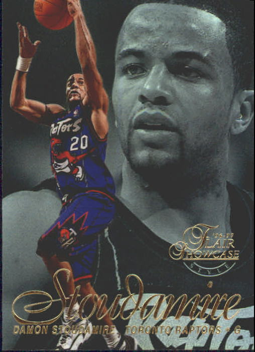 1996-97 Flair Showcase Legacy Collection Row 2 #20 Damon Stoudamire