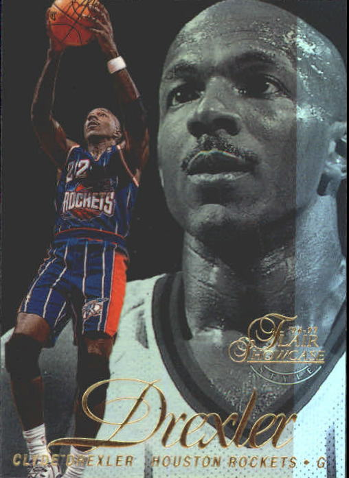 1996-97 Flair Showcase Legacy Collection Row 2 #22 Clyde Drexler