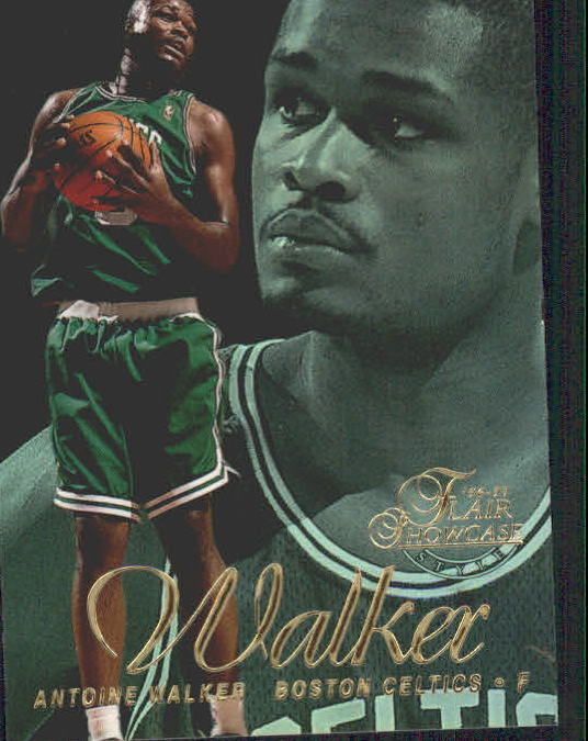 1996-97 Flair Showcase Legacy Collection Row 2 #26 Antoine Walker