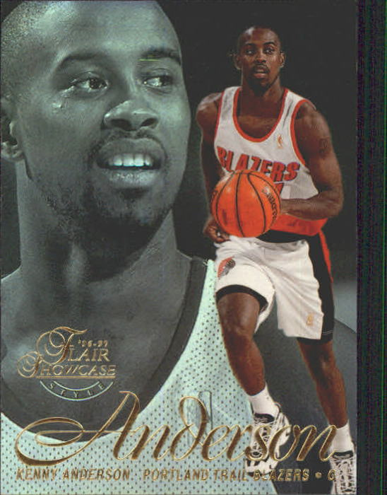 1996-97 Flair Showcase Legacy Collection Row 2 #50 Kenny Anderson