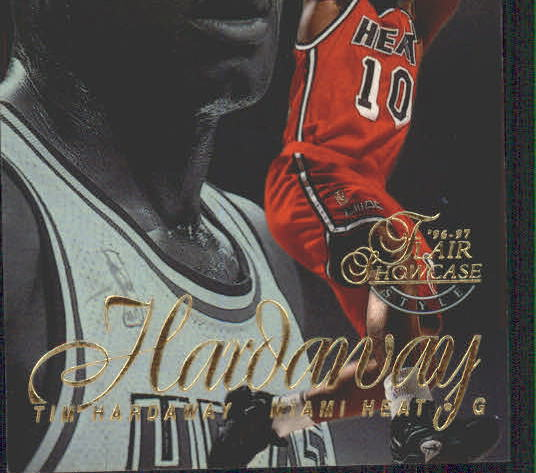 1996-97 Flair Showcase Legacy Collection Row 2 #52 Tim Hardaway