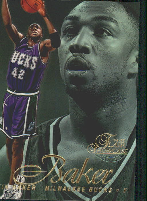 1996-97 Flair Showcase Legacy Collection Row 2 #60 Vin Baker
