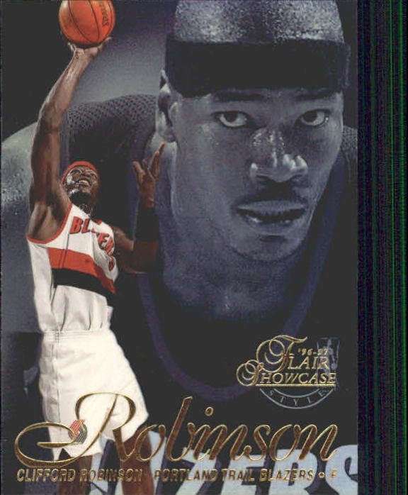 1996-97 Flair Showcase Legacy Collection Row 2 #62 Clifford Robinson