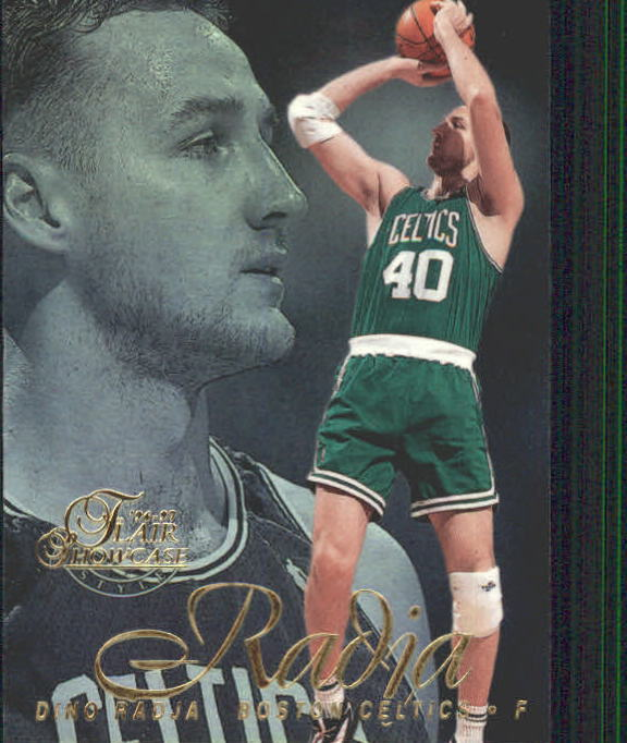 1996-97 Flair Showcase Legacy Collection Row 2 #64 Dino Radja
