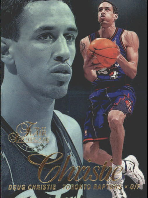 1996-97 Flair Showcase Legacy Collection Row 2 #72 Doug Christie