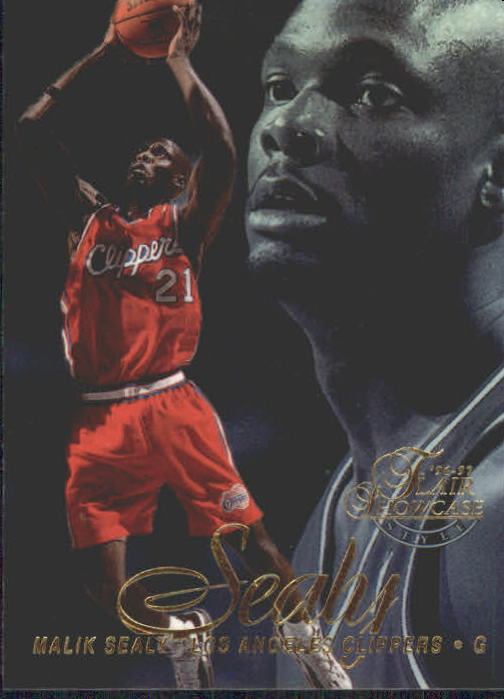 1996-97 Flair Showcase Legacy Collection Row 2 #77 Malik Sealy