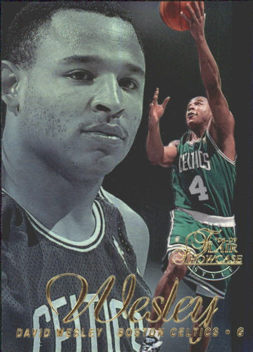 1996-97 Flair Showcase Legacy Collection Row 2 #80 David Wesley