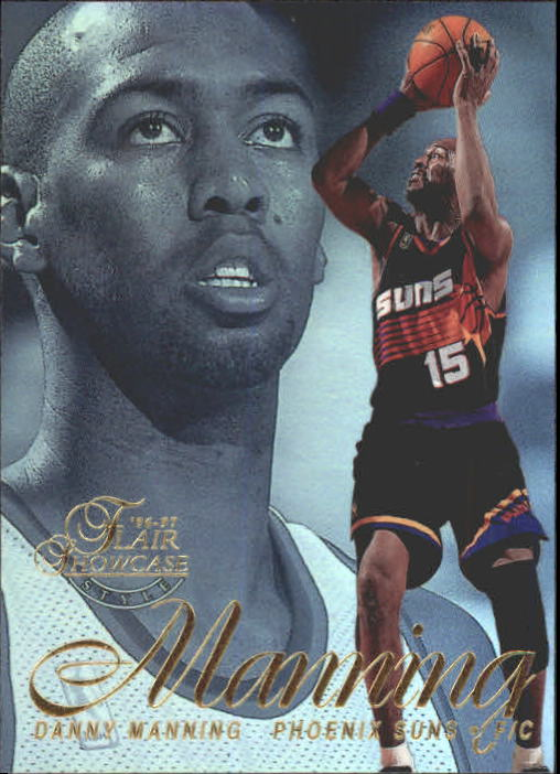 1996-97 Flair Showcase Legacy Collection Row 2 #82 Danny Manning