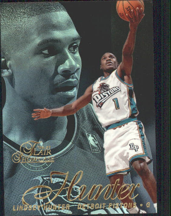 1996-97 Flair Showcase Legacy Collection Row 2 #85 Lindsey Hunter